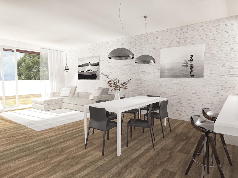 Appartamento 03 attico fincos for 3 camere da letto 2 bagni piani piano aperto